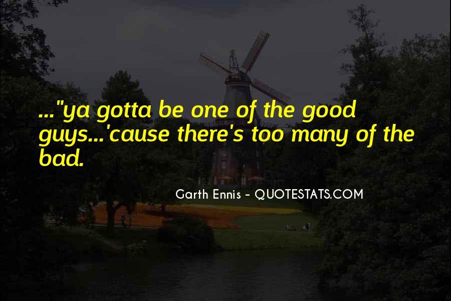Ennis's Quotes #758644