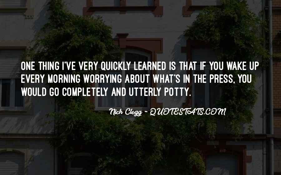 Quotes About Potty #1683478