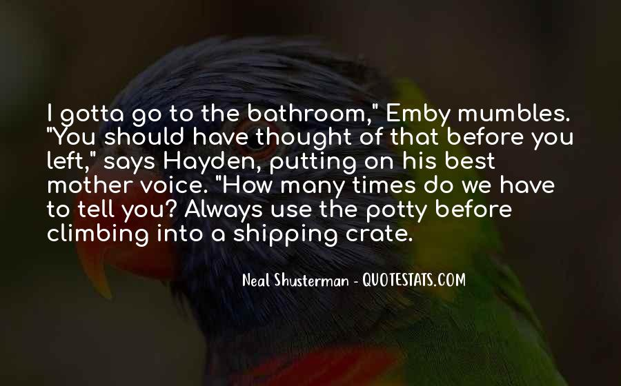 Quotes About Potty #229378