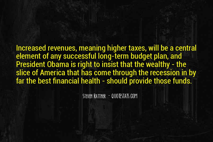 Quotes About Financial Health #1126346