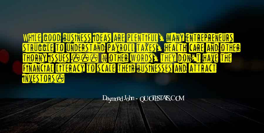 Quotes About Financial Health #1273830