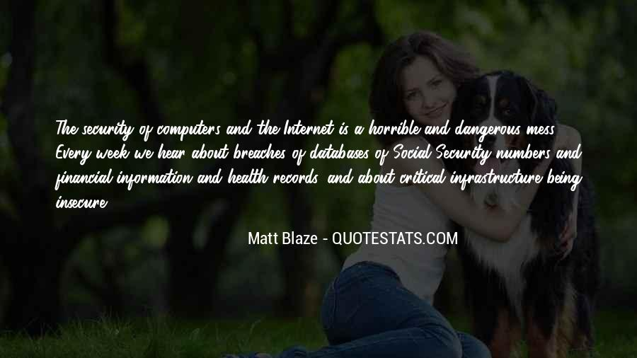 Quotes About Financial Health #1330797