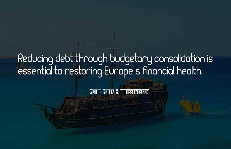 Quotes About Financial Health #1378095