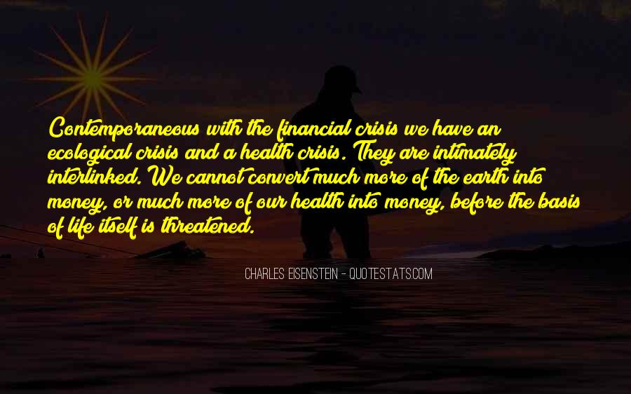 Quotes About Financial Health #1746442
