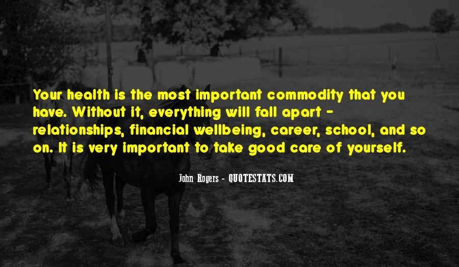 Quotes About Financial Health #184532