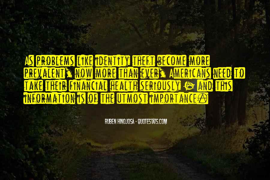 Quotes About Financial Health #334350