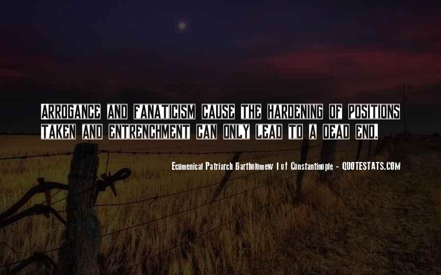 Entrenchment Quotes #391810