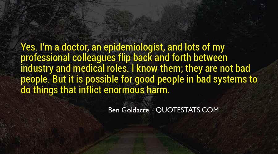 Epidemiologist Quotes #1214026