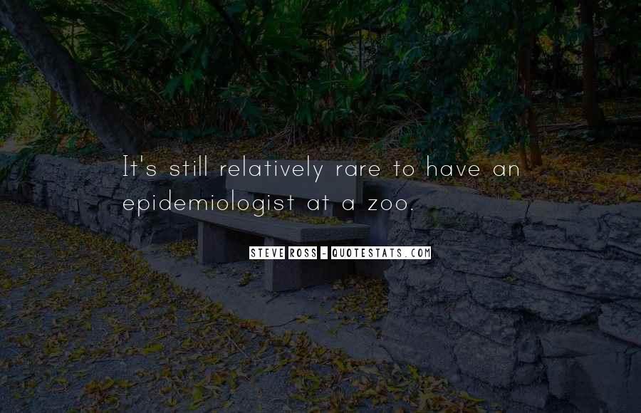 Epidemiologist Quotes #1824181