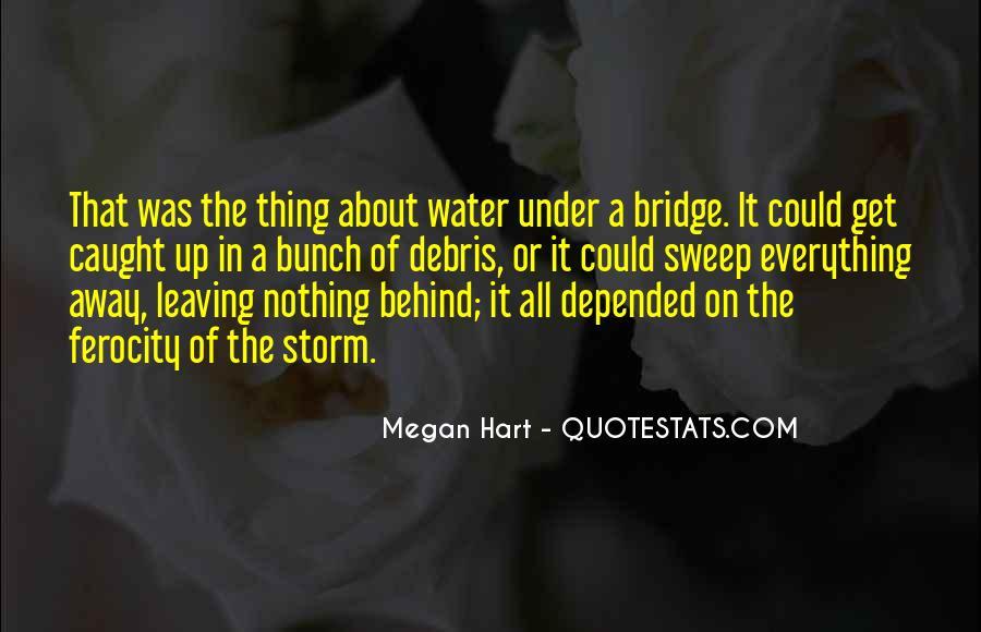 Quotes About Under The Bridge #1584411