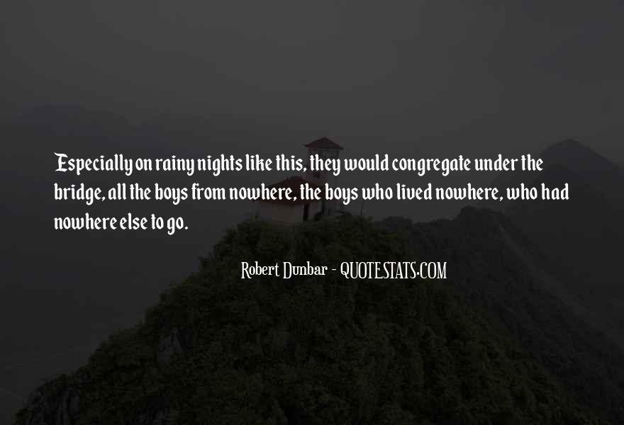 Quotes About Under The Bridge #1646034