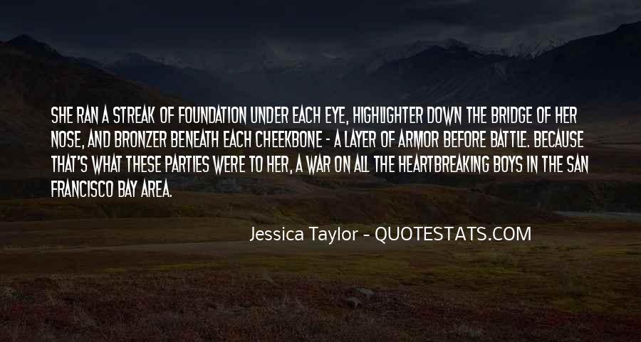 Quotes About Under The Bridge #1791460
