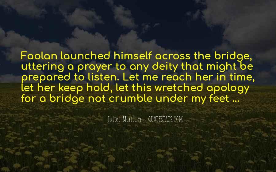 Quotes About Under The Bridge #337303