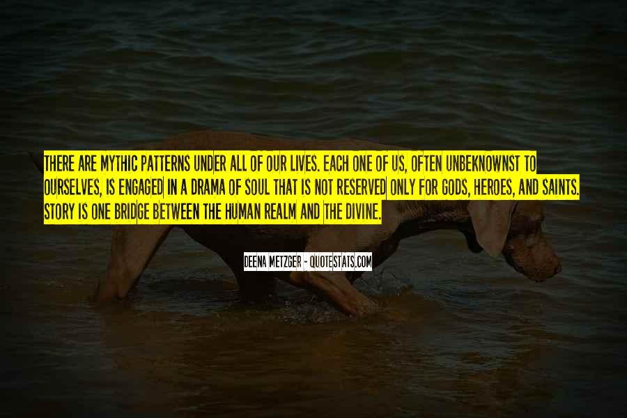 Quotes About Under The Bridge #671851