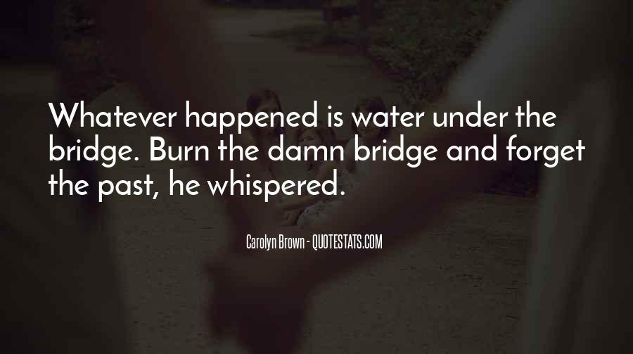 Quotes About Under The Bridge #741066