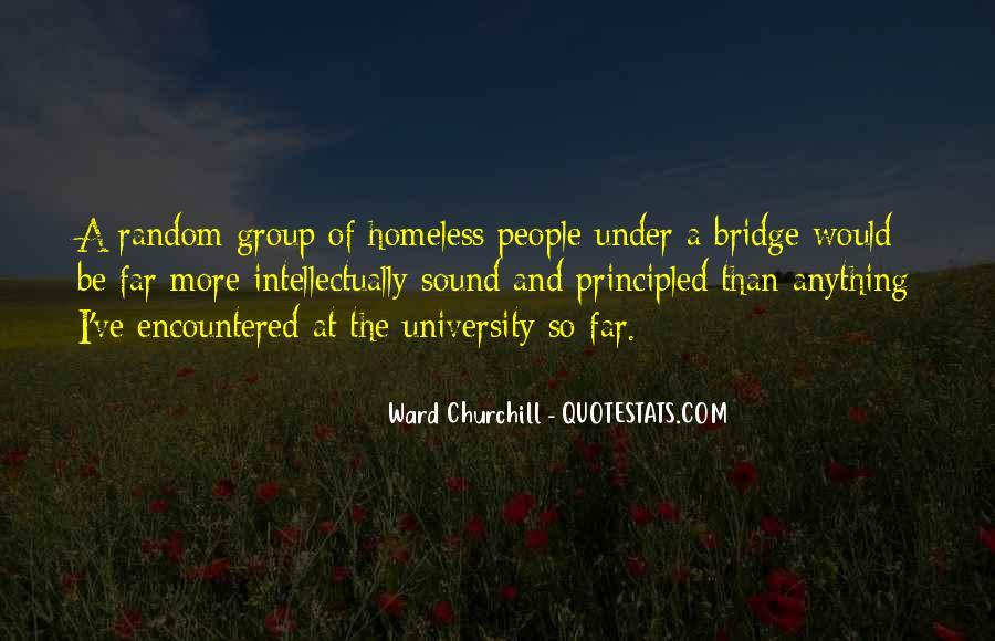 Quotes About Under The Bridge #841325