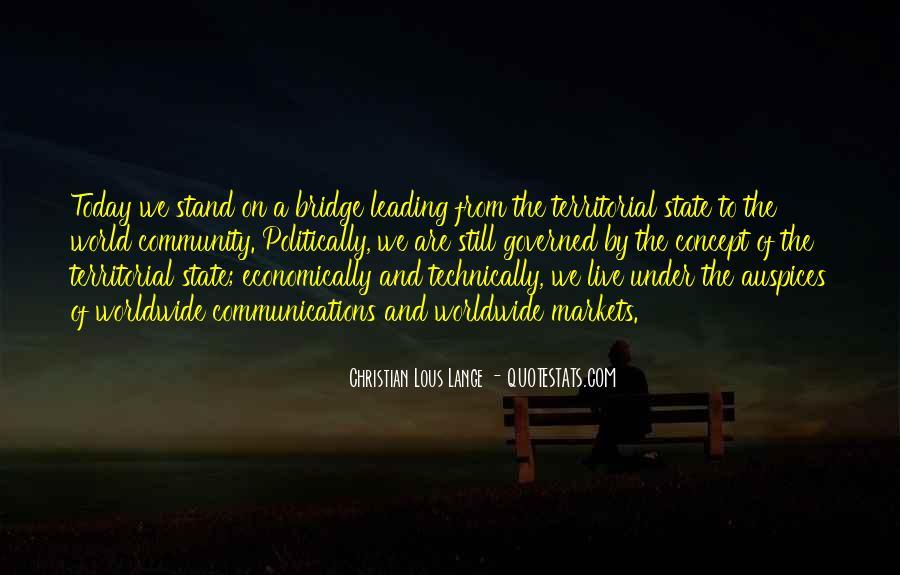 Quotes About Under The Bridge #985583