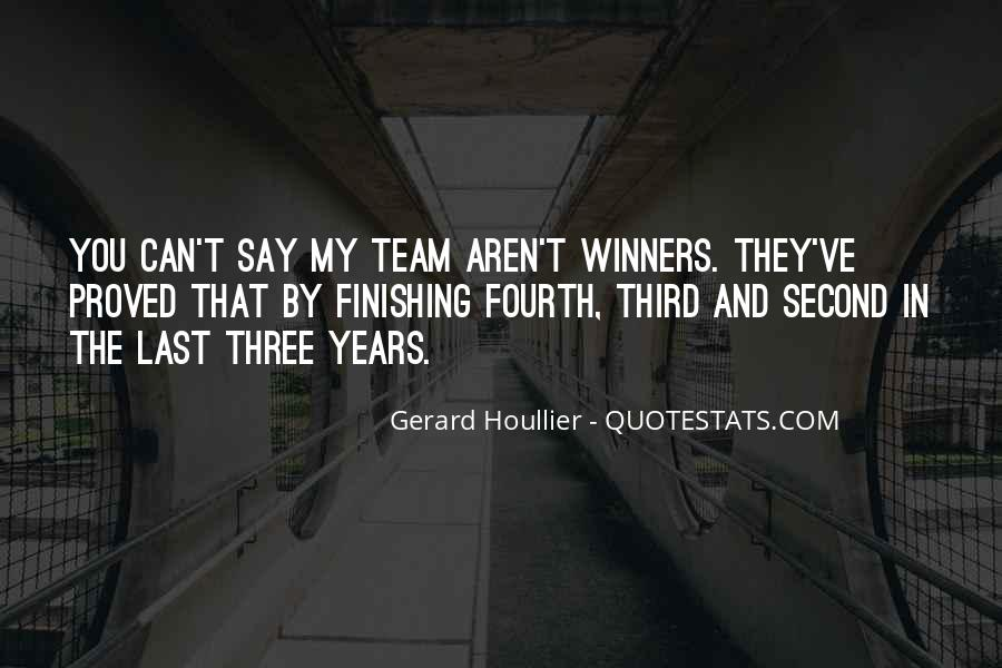 Quotes About Finishing Second #1013084