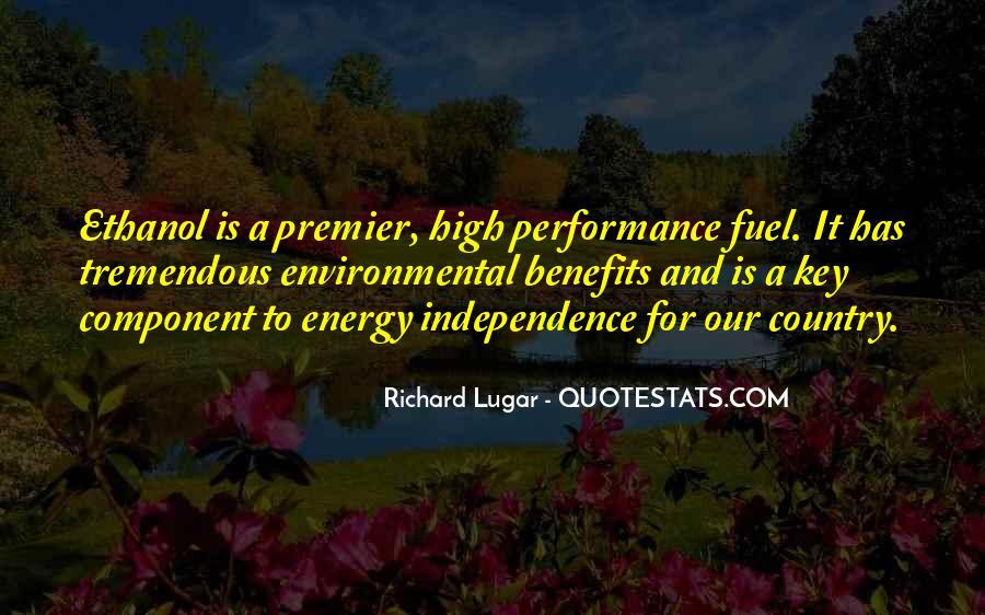 Ethanol's Quotes #1567670