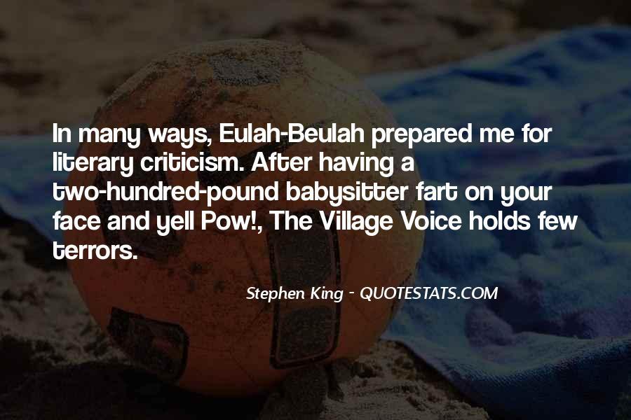 Eulah Quotes #1614194