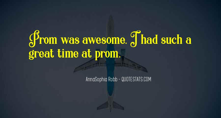 Quotes About Had A Great Time #97021