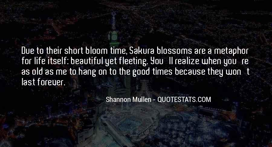 Quotes About Good Old Times #465258
