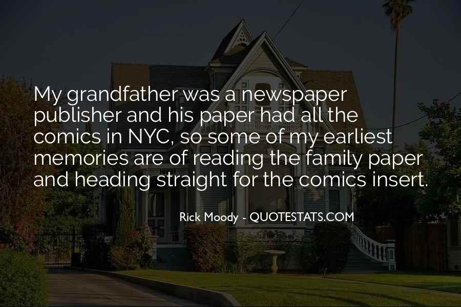 Quotes About Reading And Family #1118085