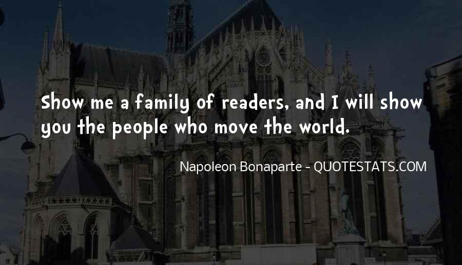 Quotes About Reading And Family #1334441