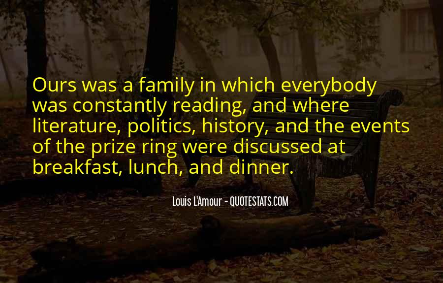 Quotes About Reading And Family #153700