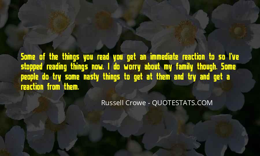 Quotes About Reading And Family #1541272