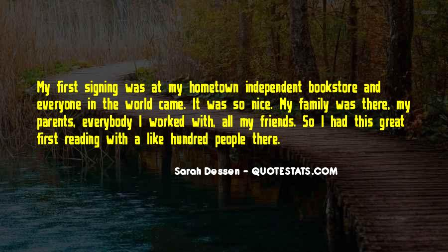 Quotes About Reading And Family #34876