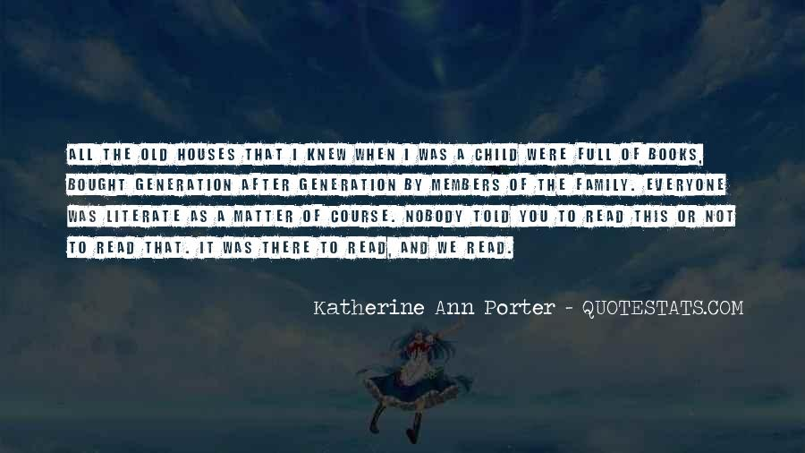 Quotes About Reading And Family #497203