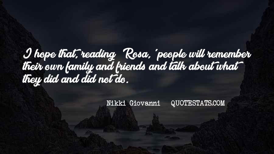 Quotes About Reading And Family #709149