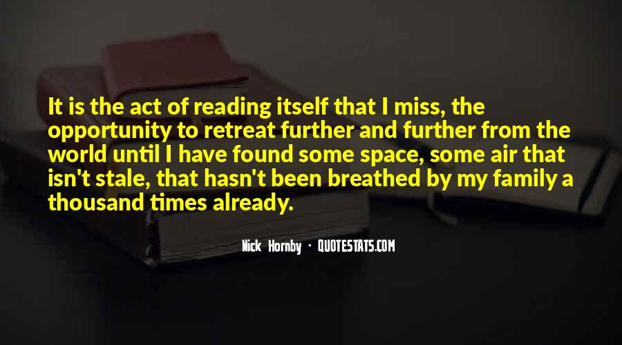 Quotes About Reading And Family #853506