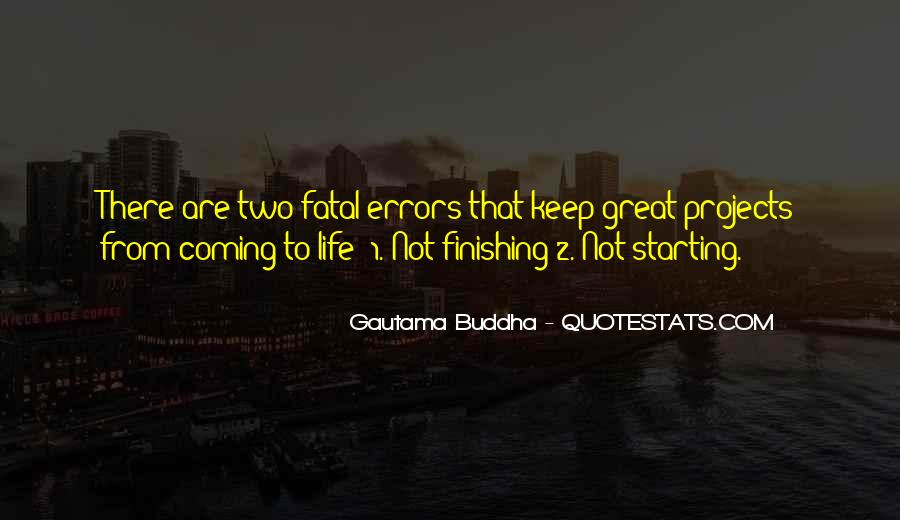 Quotes About Finishing Projects #225975