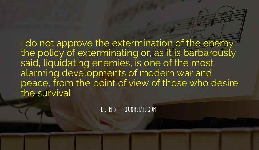 Exterminating Quotes #551723