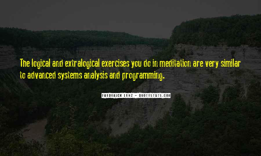 Extralogical Quotes #228037
