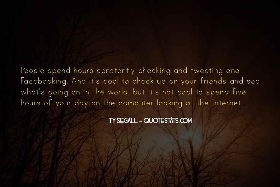 Facebooking Quotes #1748103