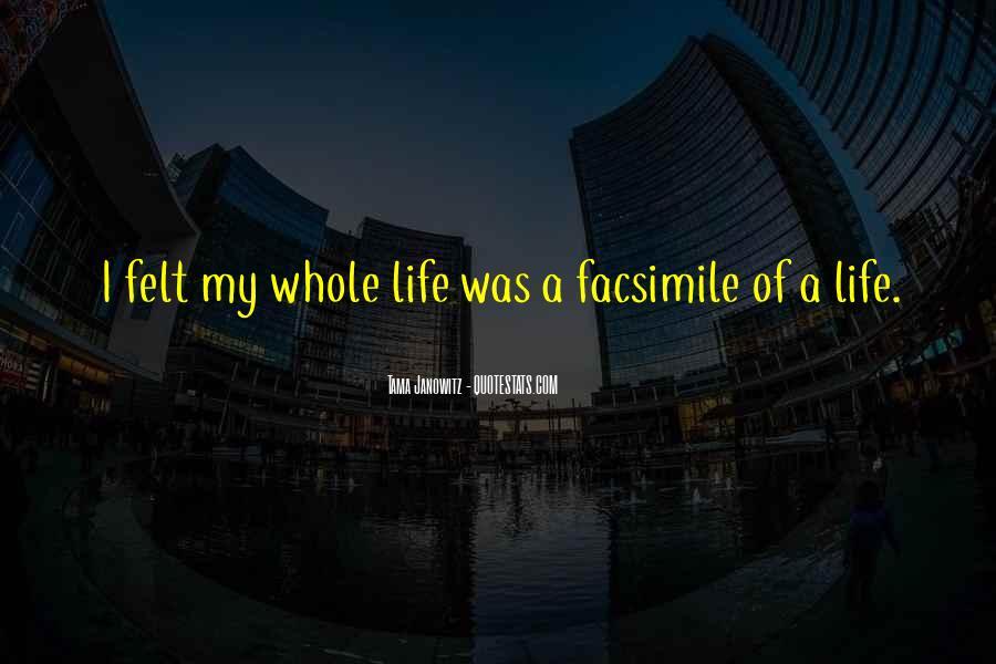 Facsimile Quotes #1844367