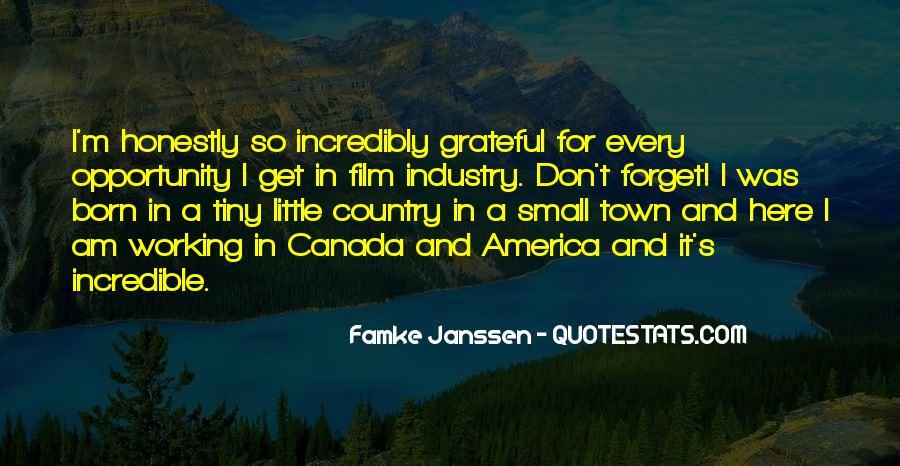 Famke Quotes #1068376