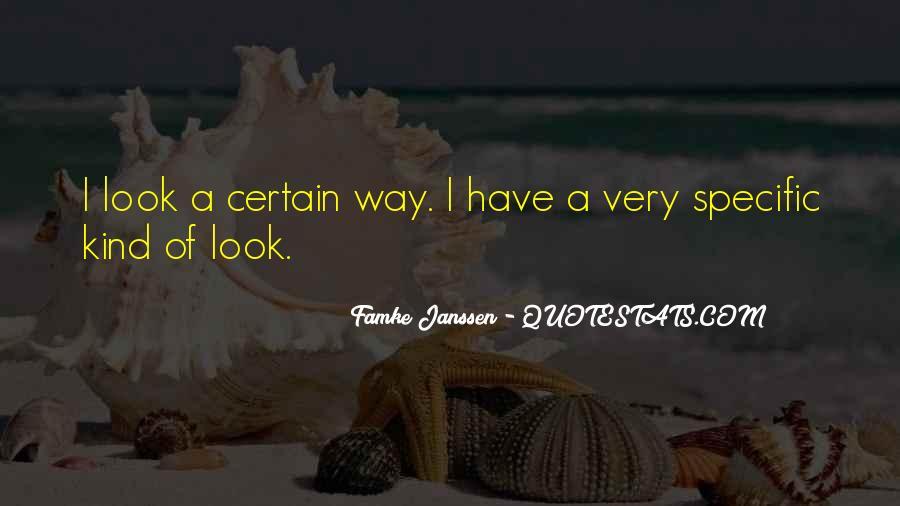 Famke Quotes #1293430