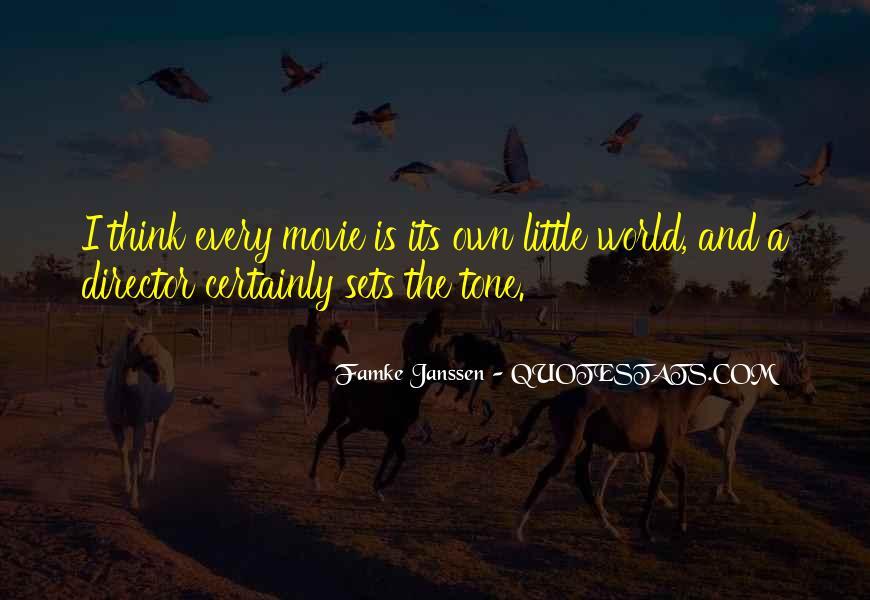 Famke Quotes #1376904