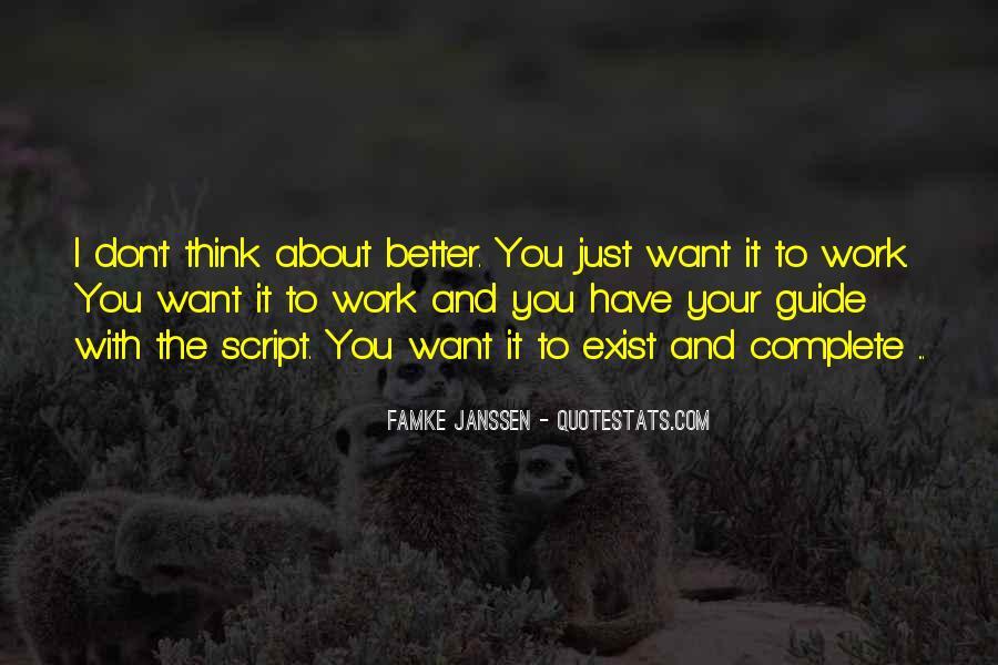 Famke Quotes #1640630