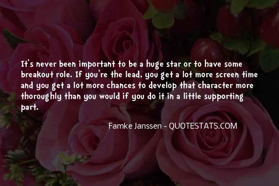 Famke Quotes #1652395