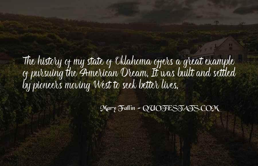 Quotes About The American West #1109805
