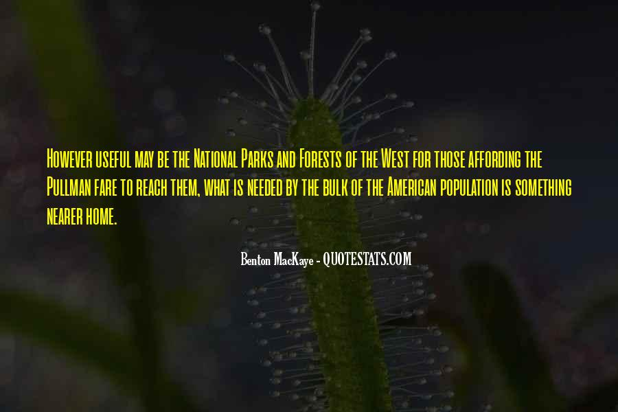 Quotes About The American West #1755402