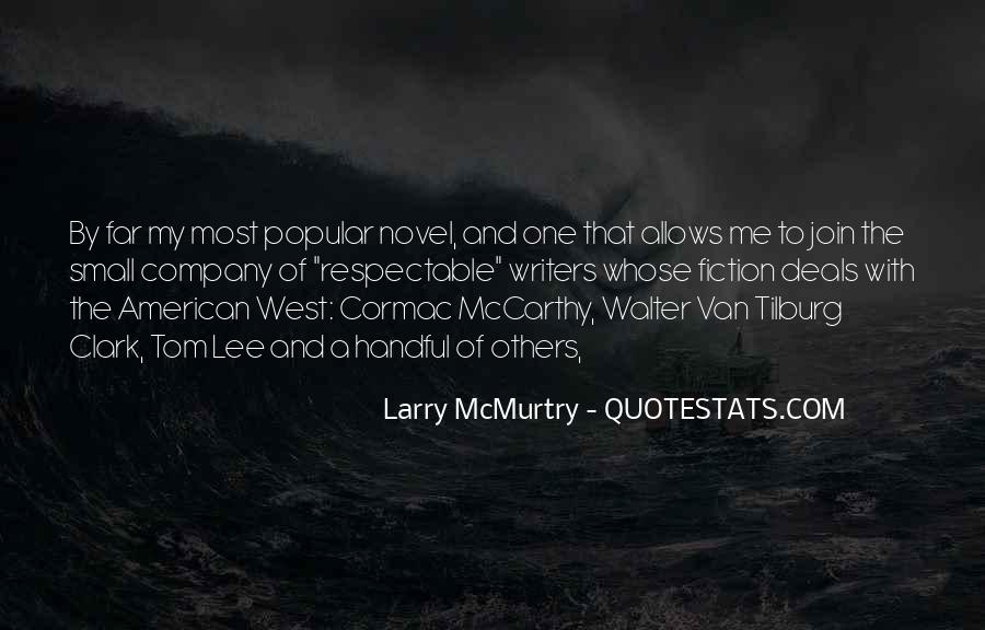Quotes About The American West #1797099
