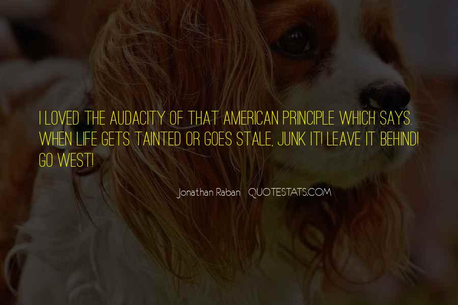 Quotes About The American West #183338