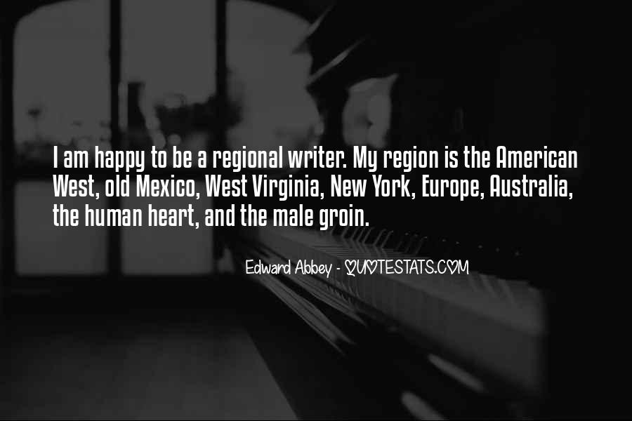 Quotes About The American West #236377