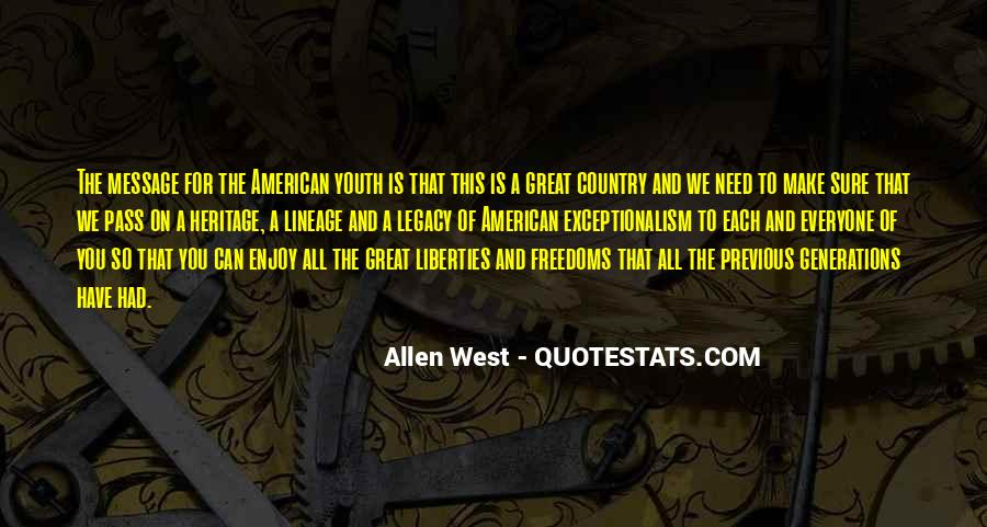 Quotes About The American West #949620